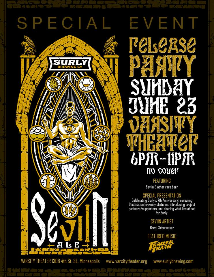 Surly Brewing SeVIIn Year Anniversary and Beer Release