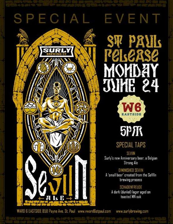 Ward 6 Surly Brewing SeVIIn Release
