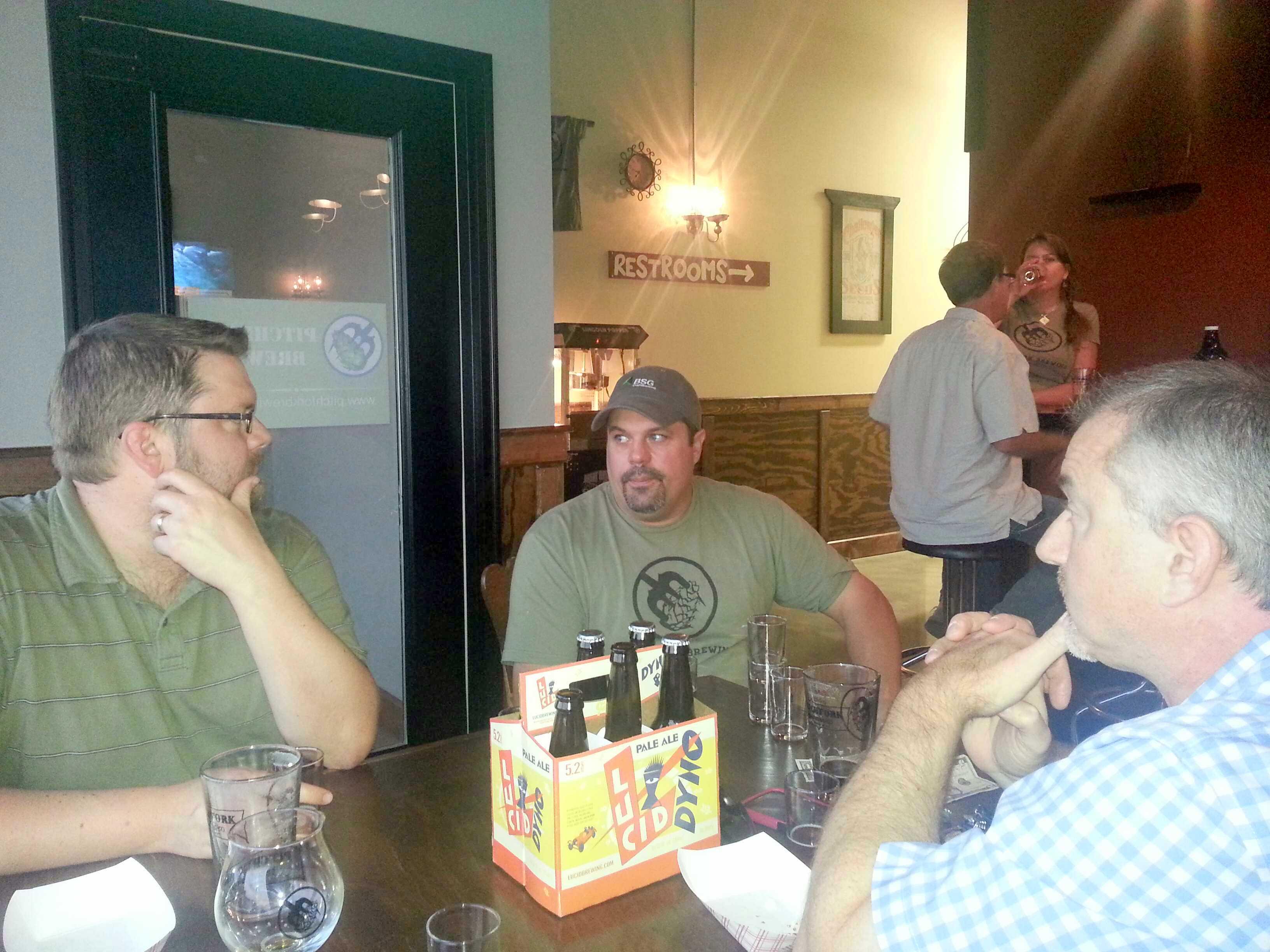 Mike Fredricksen, Pitchfork Brewing owner and Operator
