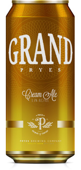 Grand Pryes Cream Ale
