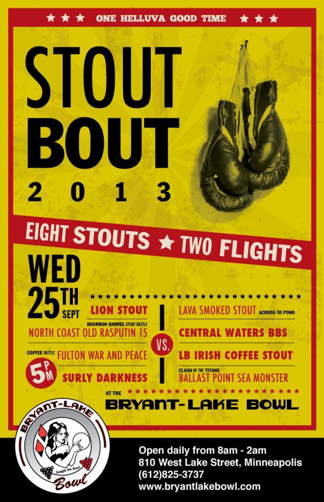 Stout Bout 2013