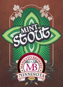 Mankato Brewery Mint Stout