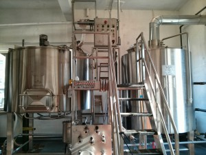 Enki Brewing Brewhouse