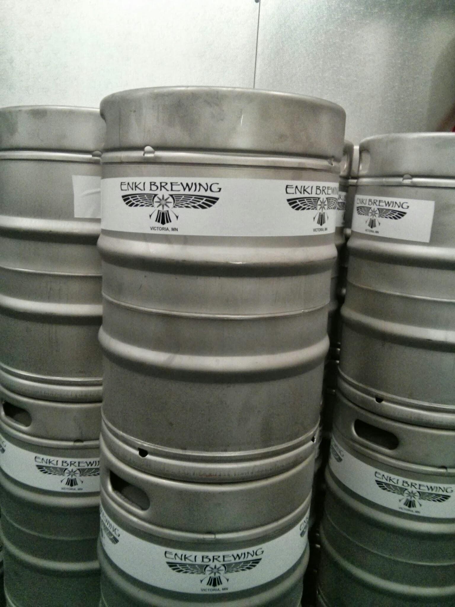 Enki Brewing Kegs