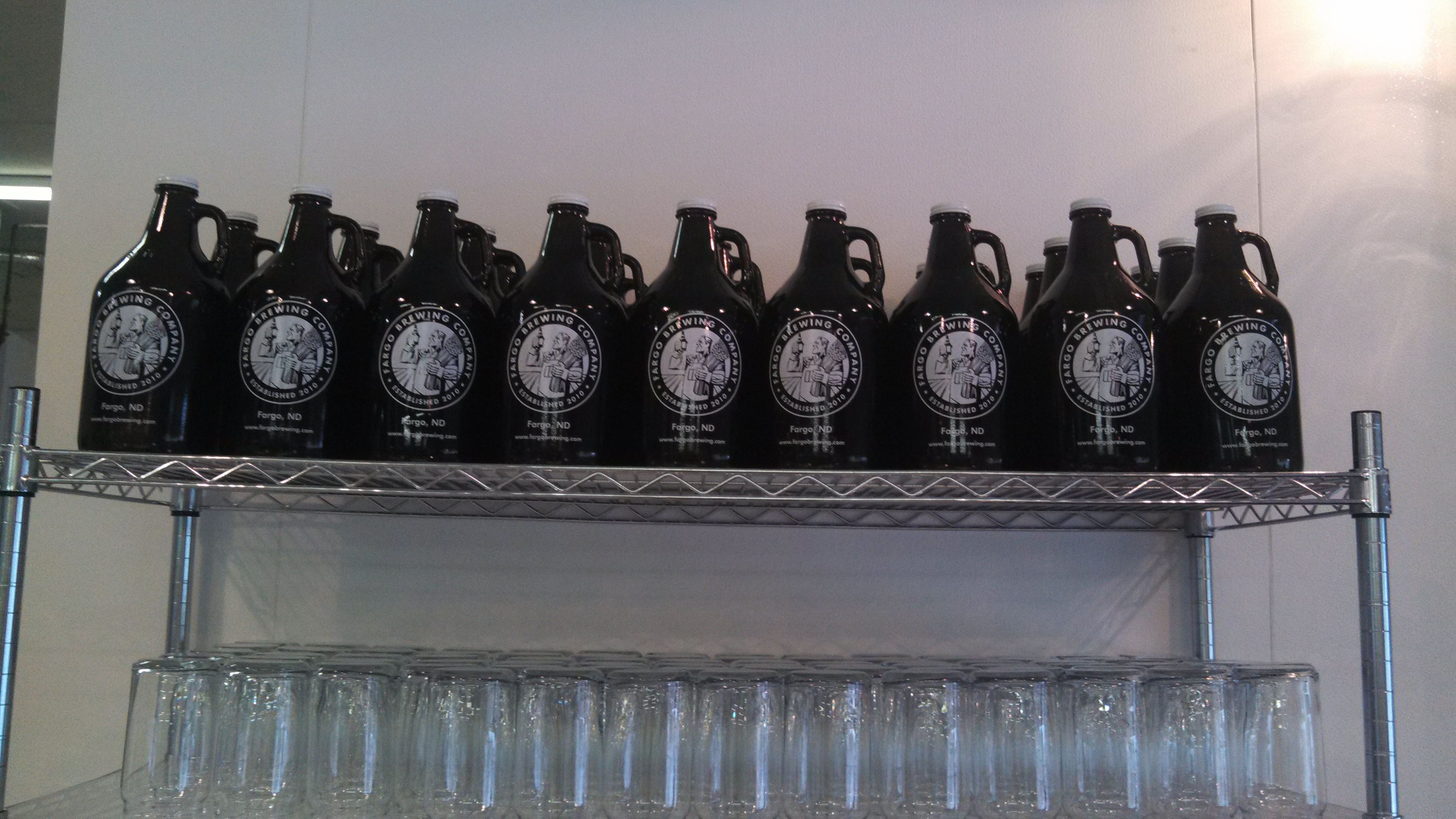 Fargo Brewing Growlers