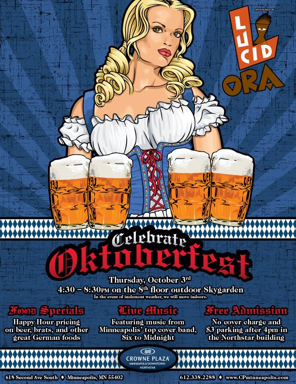crown plaza oktoberfest
