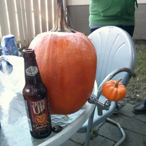 Creating a Pumpkin Beer Tap