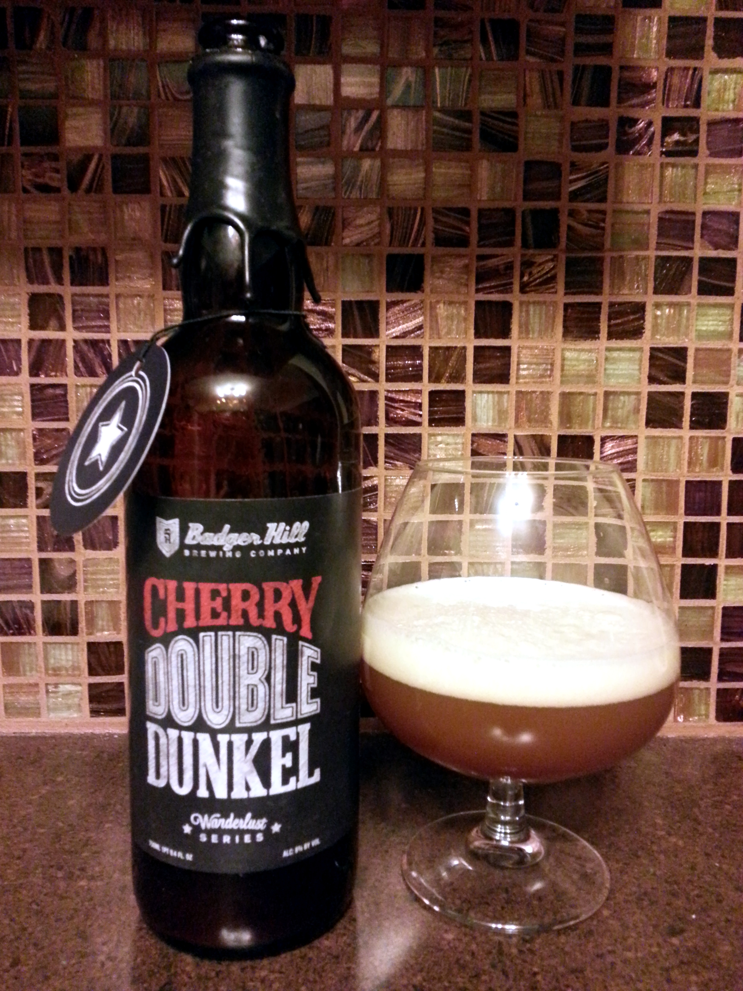 Badger Hill Brewing Cherry Double Dunkel