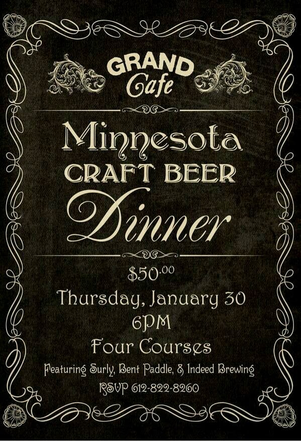 Minnesota Craft Beer Dinner