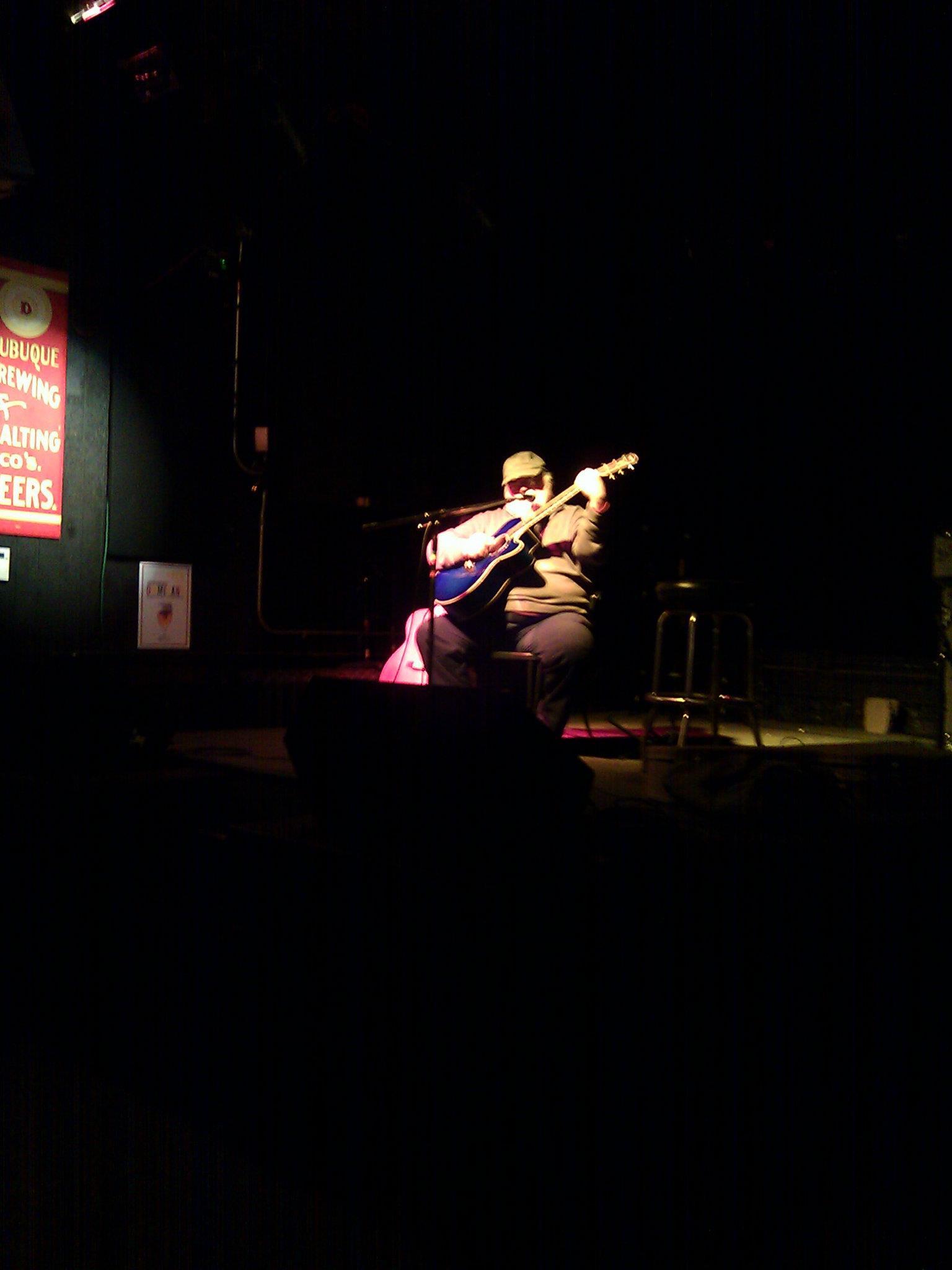 Legendary Folk & Blues Guitar artist Peter Lang at Nomad World Pub
