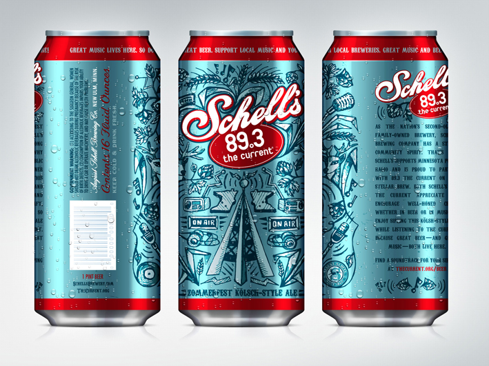 Schell's The Current Beer