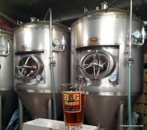 big wood brewery tanks