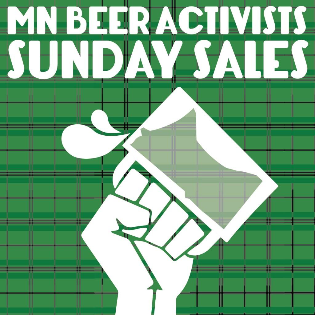 St Patricks Day Rally for Sunday liquor Sales in Minnesota