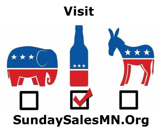 visit sundaysalesmn.org Sunday Liquor Sales #SundaySalesMN #ItsTime #MnLeg