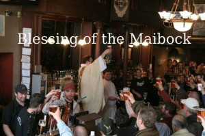 Minneapolis town hall brewery maibock blessing