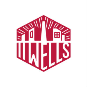 11 wells distillery square logo