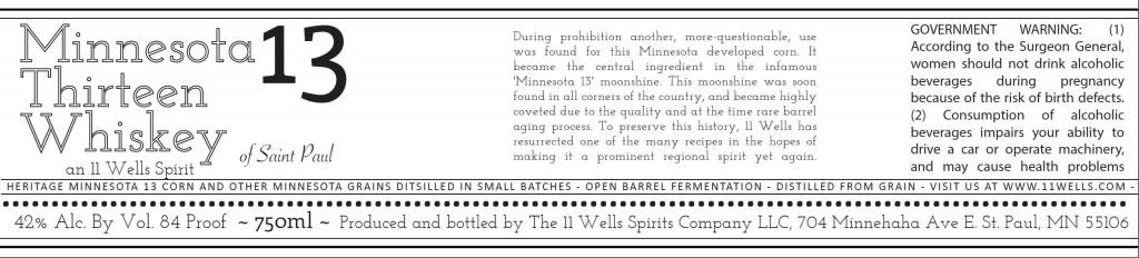 Minnesota 13 Whiskey