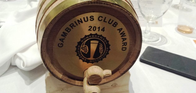 2014 Gambrinus Club Award
