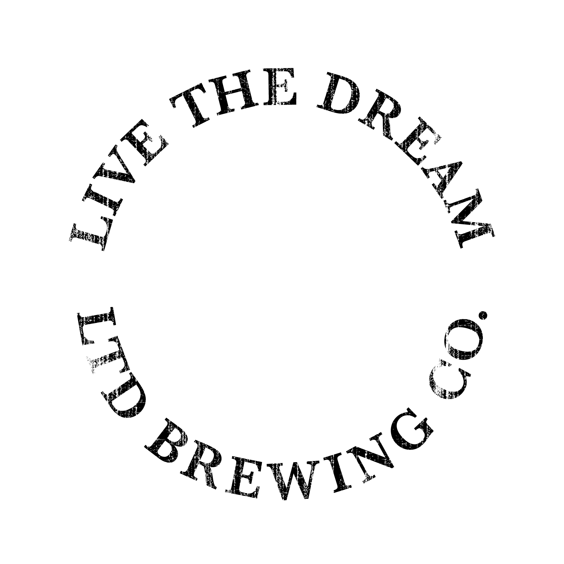 LTD Brewing Co white Square logo