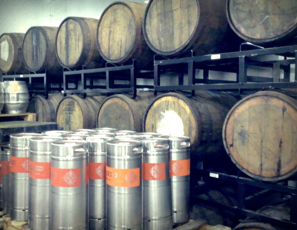 Indeed Brewing Barrel Room