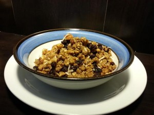Spent Grain Granola