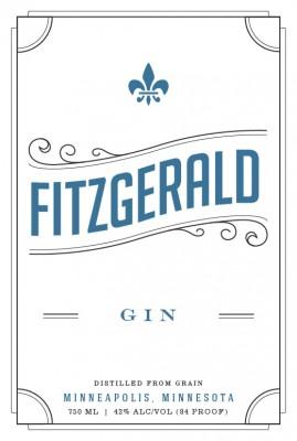 Fitzgerald Gin Du Nord craft Spirits