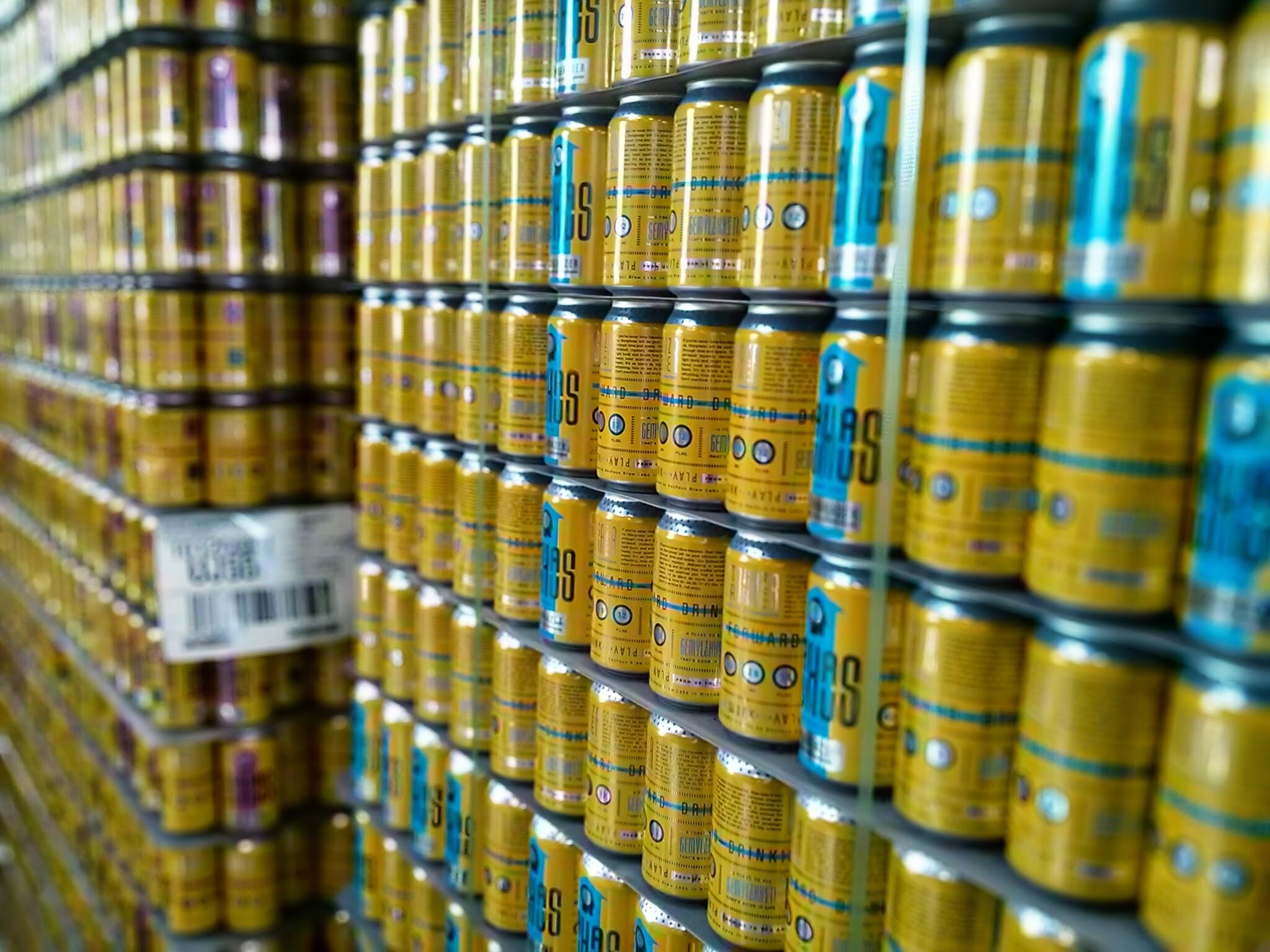 Bauhaus Brew Labs Cans