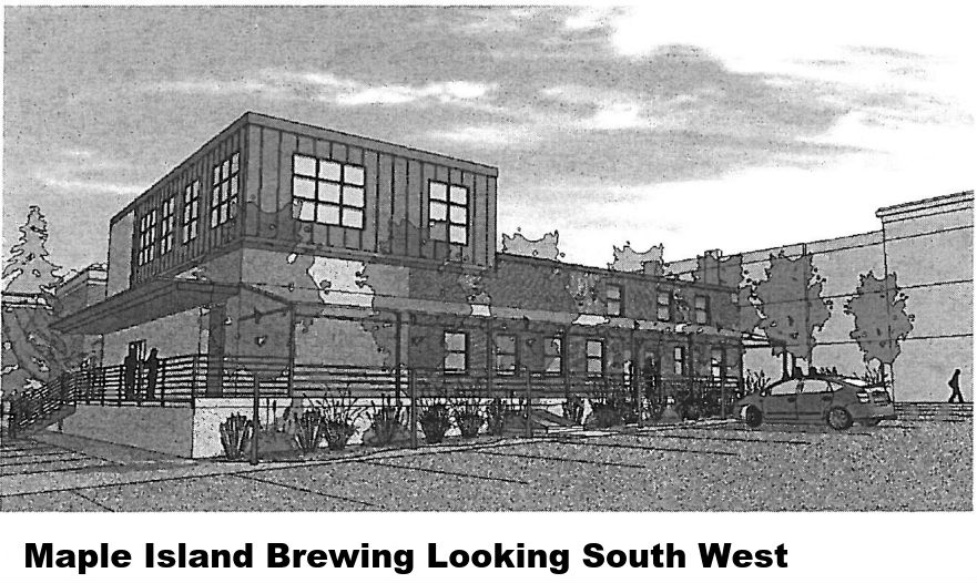Maple Island Brewing Looking South West