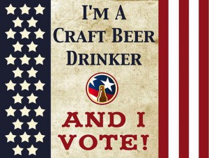 Beer Drinkers Vote