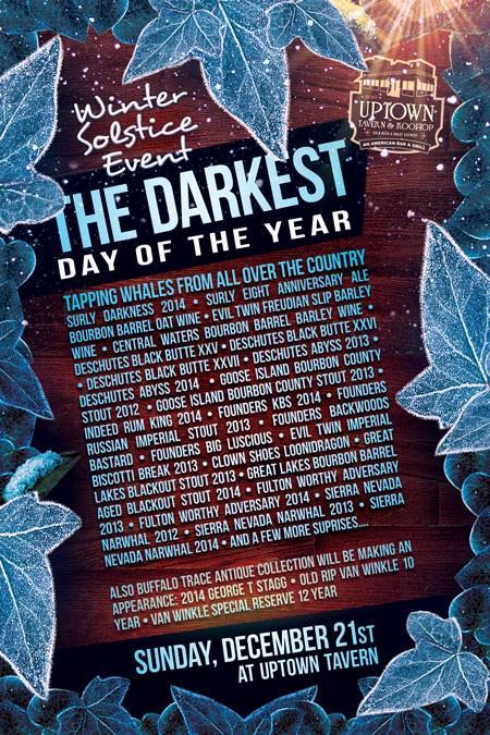 darkest day of the year