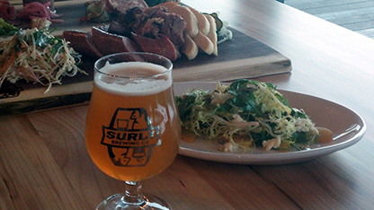 Surly Dinner at Borough