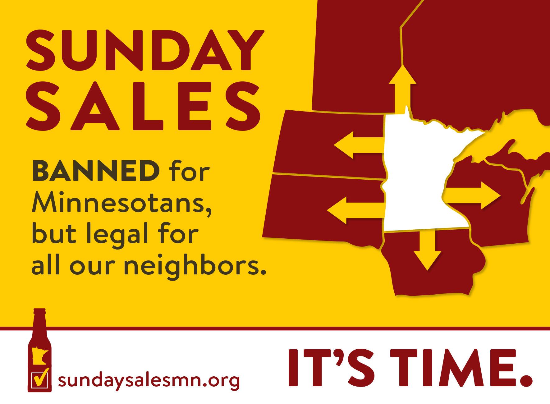 Sunday Liquor Sales #SundaySalesMN #ItsTime #MnLeg
