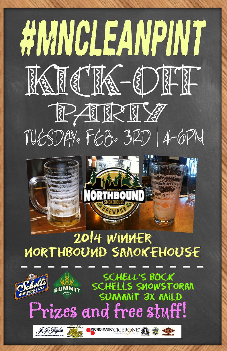 #MNCleanPint-Kickoff-Party