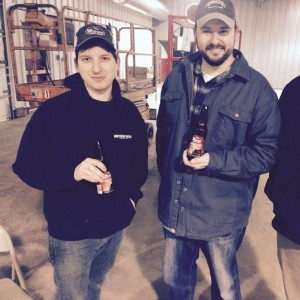 Bad Weather Brewery Zac and Joe mn beer activists