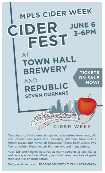 Cider Fest at Town Hall Brewery and Republic 7 Corners