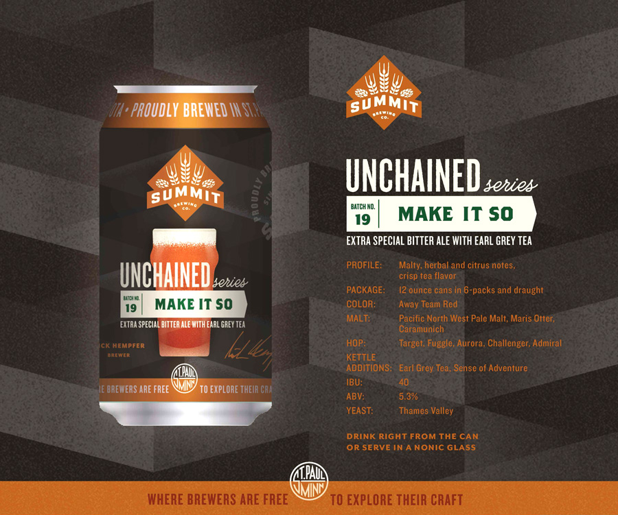 Summit Brewing Unchained 19: Make It So Release Party