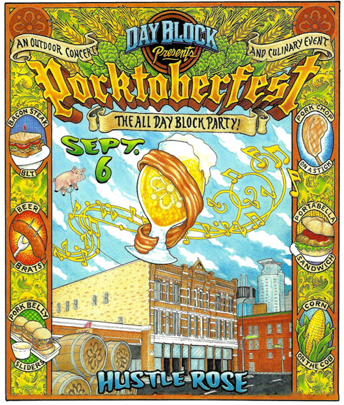 PorktoberFest Block Party