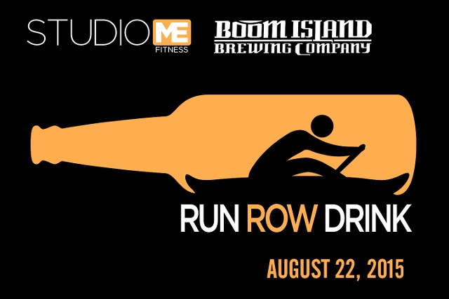 "Run, Row. Drink-A Boom ""Triathlon""n"