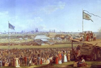 Adam_Pferderennen_Oktoberfest_1823