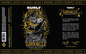 Surly Brewing Darkness 2015