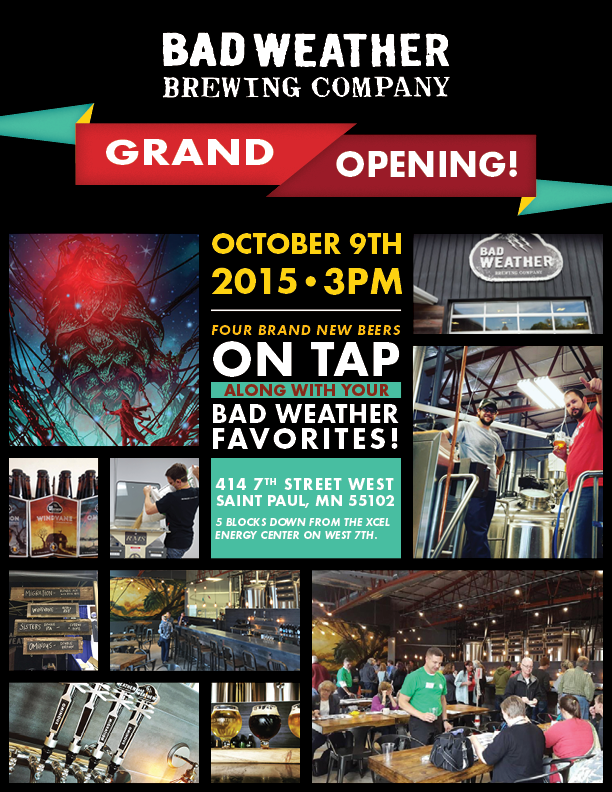 Bad Weather Brewing Grand Opening