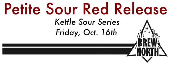 Bemidji Brewing Petite Sour Red Release