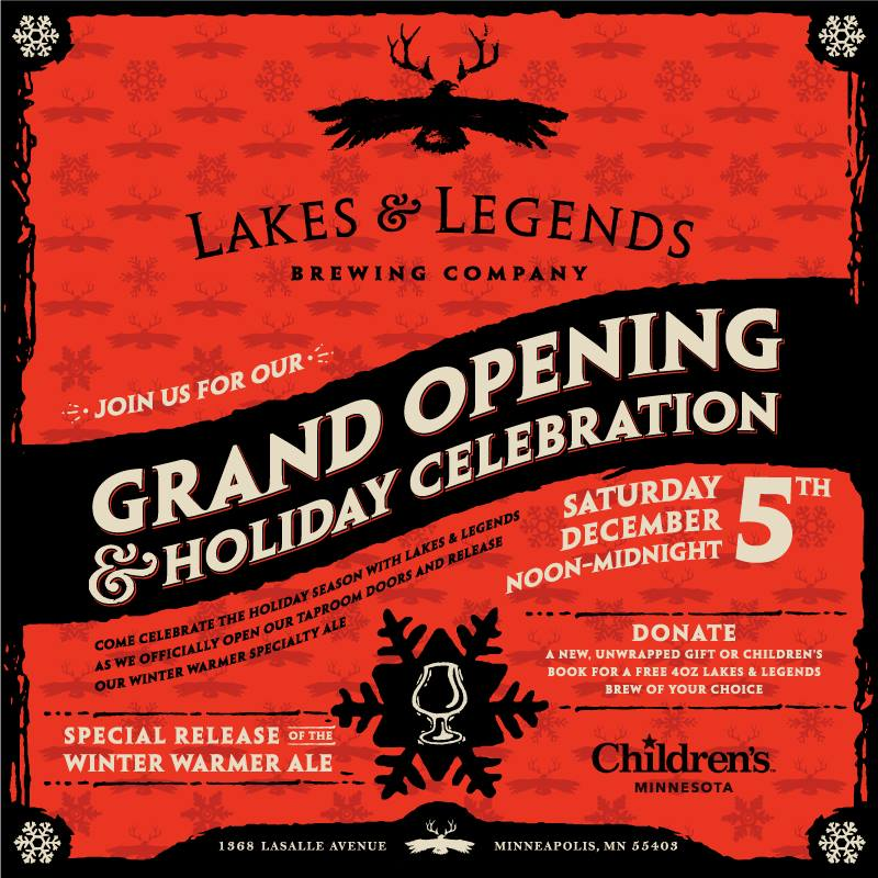 Lakes and Legends Grand Opening