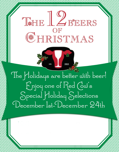 12 beers of xmas red cow