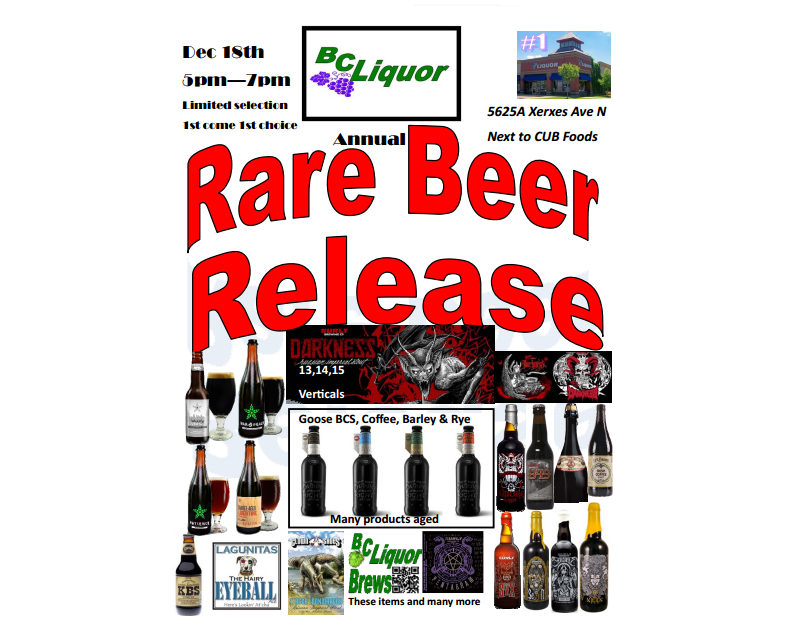rare release
