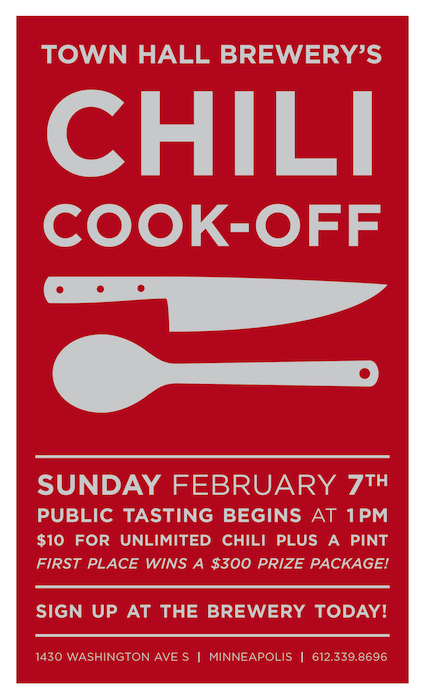 Town Hall Brewery Chili Cook-Off