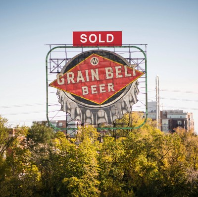 Grain Belt Sign