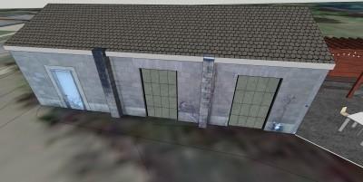 Brewing Garage New windows