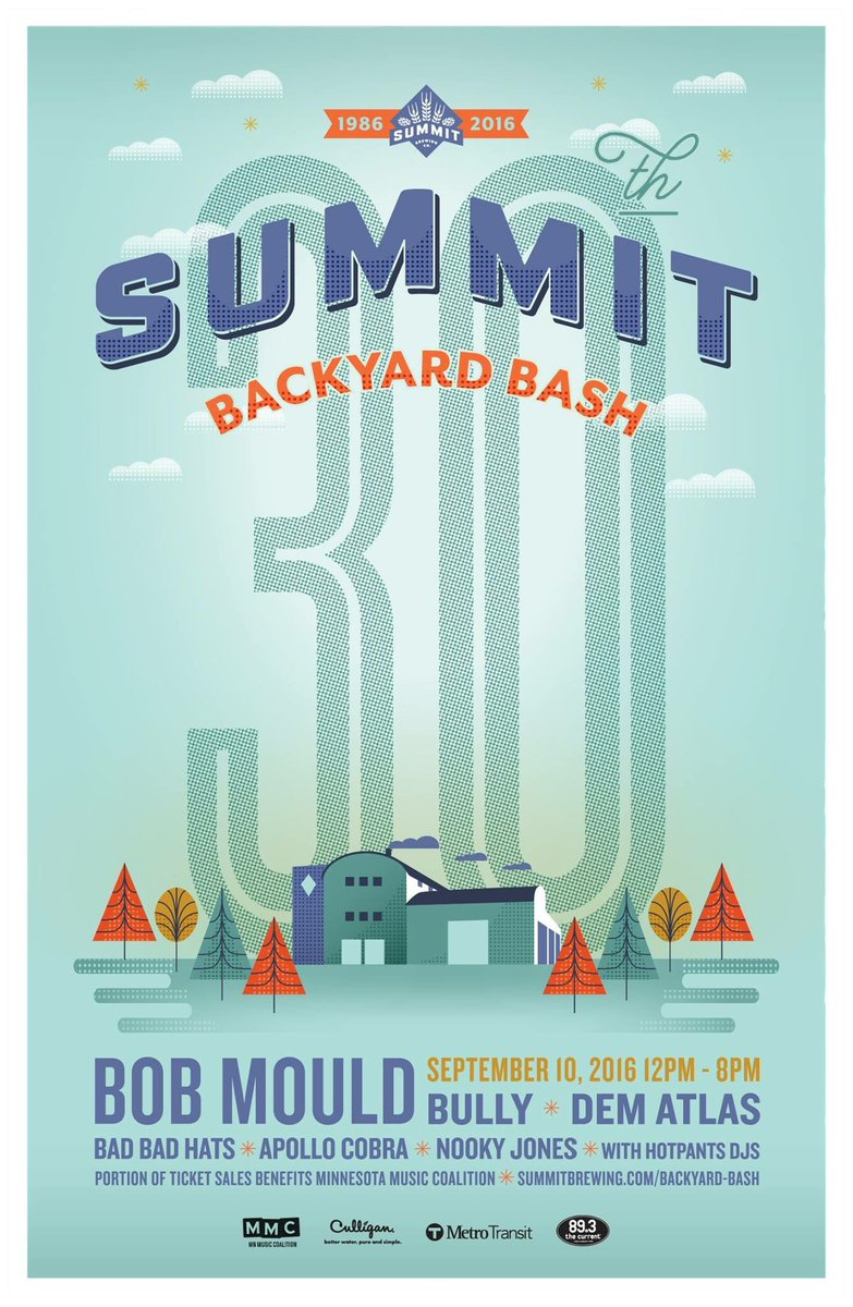 Summit Brewing Backyard Bash 30th Anniversary Celebration
