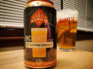 Summit Brewing Unchained 22 Zingiber Cream Ale with Ginger